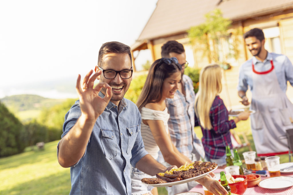 fort lauderdale catering summer party event