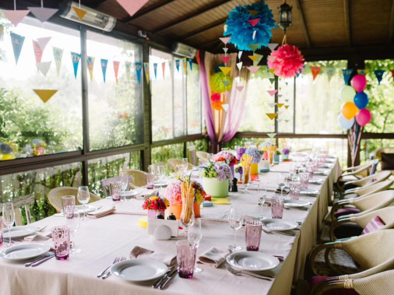 Birthday party for a child. Concept